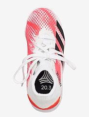 adidas Performance - PREDATOR 20.3 TF J - buty piłkarskie - ftwwht/cblack/pop - 3