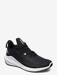 adidas Performance - alphabounce 3 - löbesko - cblack/silvmt/cblack - 0