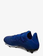 adidas Performance - X 19.3 FG J - buty piłkarskie - royblu/ftwwht/cblack - 2