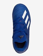 adidas Performance - X 19.3 FG J - buty piłkarskie - royblu/ftwwht/cblack - 3