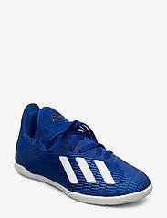 adidas Performance - X 19.3 IN J - buty piłkarskie - royblu/ftwwht/cblack - 0