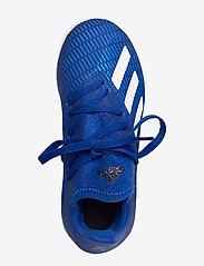 adidas Performance - X 19.3 IN J - buty piłkarskie - royblu/ftwwht/cblack - 3