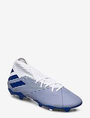 adidas Performance - NEMEZIZ 19.3 FG - jalkapallokengät - ftwwht/royblu/royblu - 0