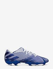adidas Performance - NEMEZIZ 19.2 FG - jalkapallokengät - ftwwht/royblu/royblu - 1