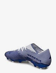 adidas Performance - NEMEZIZ 19.2 FG - jalkapallokengät - ftwwht/royblu/royblu - 2