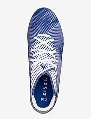 adidas Performance - NEMEZIZ 19.2 FG - jalkapallokengät - ftwwht/royblu/royblu - 3