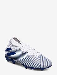 adidas Performance - NEMEZIZ 19.3 FG J - buty sportowe - ftwwht/royblu/royblu - 0
