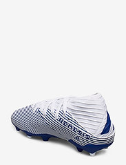 adidas Performance - NEMEZIZ 19.3 FG J - buty sportowe - ftwwht/royblu/royblu - 2
