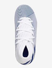 adidas Performance - NEMEZIZ 19.3 FG J - buty sportowe - ftwwht/royblu/royblu - 3