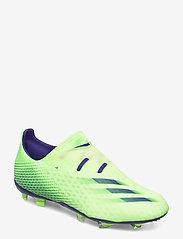 adidas Performance - X GHOSTED.2 FG - fotbollsskor - siggnr/eneink/sesosl - 0