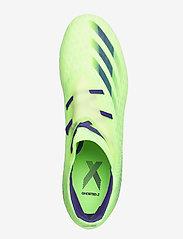 adidas Performance - X GHOSTED.2 FG - fotbollsskor - siggnr/eneink/sesosl - 3