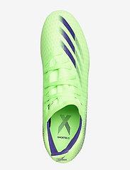 adidas Performance - X GHOSTED.3 FG - fotbollsskor - siggnr/eneink/siggnr - 3