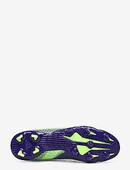 adidas Performance - X GHOSTED.3 FG - fotbollsskor - siggnr/eneink/siggnr - 4