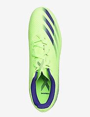 adidas Performance - X GHOSTED.4 FxG - fodboldsko - siggnr/eneink/siggnr - 3