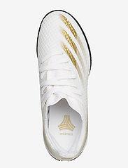 adidas Performance - X GHOSTED.3 TF J - sportschuhe - ftwwht/metgol/cblack - 3