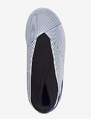 adidas Performance - NEMEZIZ 19.3 LL FG J - buty sportowe - ftwwht/royblu/cblack - 3