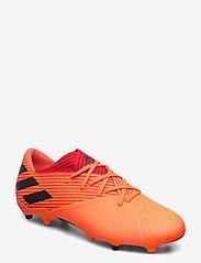 adidas Performance - NEMEZIZ 19.2 FG - fodboldsko - sigcor/cblack/glored - 0