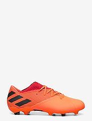 adidas Performance - NEMEZIZ 19.2 FG - fodboldsko - sigcor/cblack/glored - 1