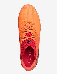 adidas Performance - NEMEZIZ 19.2 FG - fodboldsko - sigcor/cblack/glored - 3