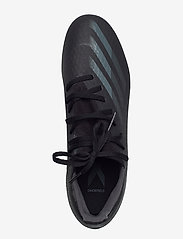 adidas Performance - X GHOSTED.3 FG - fotbollsskor - cblack/cblack/gresix - 3