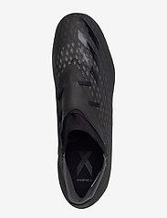 adidas Performance - X GHOSTED.2 FG - fotbollsskor - cblack/cblack/gresix - 3