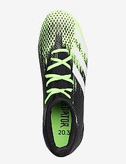 adidas Performance - PREDATOR 20.3 FG - fotballsko - siggnr/ftwwht/cblack - 3