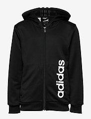 adidas Performance - YB TR 3S FZ - kapuzenpullover - black/white - 0
