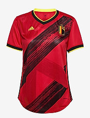 adidas Performance - Belgium 2020 Home Jersey W - football shirts - colred - 1