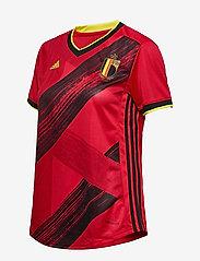 adidas Performance - Belgium 2020 Home Jersey W - football shirts - colred - 4