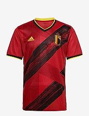 adidas Performance - Belgium 2020 Home Jersey - football shirts - colred - 1