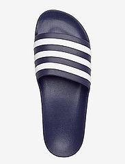 adidas Performance - ADILETTE AQUA - curseurs de piscine - dkblue/ftwwht/dkblue - 3