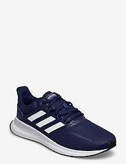 adidas Performance - RUNFALCON - löbesko - dkblue/ftwwht/cblack - 0