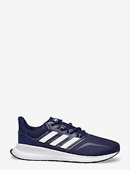 adidas Performance - RUNFALCON - löbesko - dkblue/ftwwht/cblack - 1