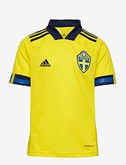 adidas Performance - Sweden 20/21 Home Jersey - voetbalshirts - yellow/nindig - 0