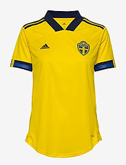 adidas Performance - Sweden 20/21 Home Jersey W - football shirts - yellow/nindig - 1