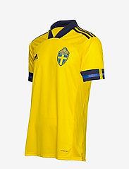 adidas Performance - Sweden 20/21 Home Jersey - football shirts - yellow/nindig - 4