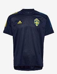 adidas Performance - Sweden 20/21 Training Jersey - voetbalshirts - nindig - 1