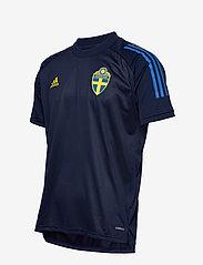 adidas Performance - Sweden 20/21 Training Jersey - voetbalshirts - nindig - 3