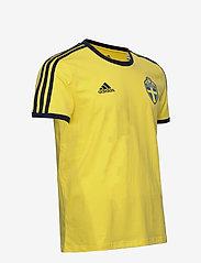 adidas Performance - Sweden 3-Stripes T-Shirt - t-shirts - shoyel - 3