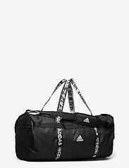 adidas Performance - 4ATHLTS Duffel Bag Large - træningstasker - black/black/white - 2