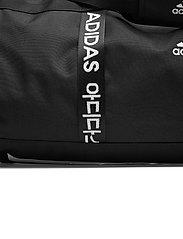 adidas Performance - 4ATHLTS Duffel Bag Large - træningstasker - black/black/white - 3