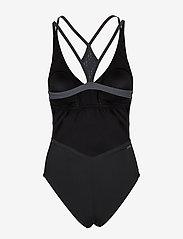 adidas Performance - SUIT PRIMEBLUE - sports swimwear - black/truora - 2