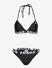 adidas Performance - Beach Bikini W - komplety bikini - black - 1