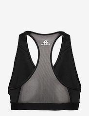 adidas Performance - DRST ASK SP BRN - sport bras: medium - black/white - 2
