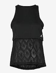 adidas Performance - PRIMEBLUE TANK - tank tops - black - 1