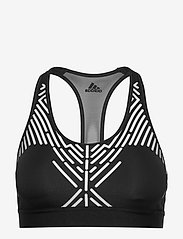 adidas Performance - DRST GRAPHIC B - sport bras: medium - black/white - 0