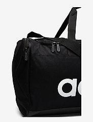 adidas Performance - LIN DUFFLE M - sacs d'entraînement - black/black/white - 3