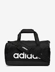adidas Performance - LIN DUFFLE XS - træningstasker - black/black/white - 0