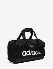 adidas Performance - LIN DUFFLE XS - træningstasker - black/black/white - 2
