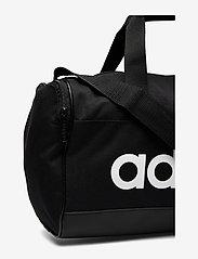 adidas Performance - LIN DUFFLE XS - træningstasker - black/black/white - 3